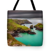 Landscape Painting Acrylic Tote Bag