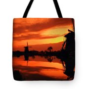 M N Landscape Tote Bag