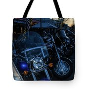 Motorcycles On Main Tote Bag