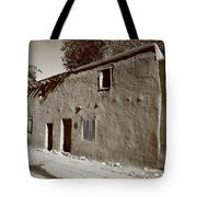 Santa Fe - Adobe Building Tote Bag