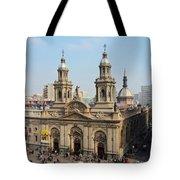 Santiago De Chile Tote Bag