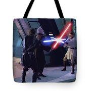 Star Wars On Art Tote Bag