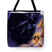 Star Wars Poster Art Tote Bag