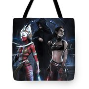 Star Wars Saga Poster Tote Bag