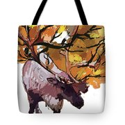 150 Caribou Speed Paint Tote Bag