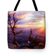 Oil Painting Landscape Pictures Tote Bag