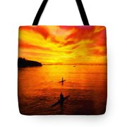 Nature Oil Paintings Landscapes Tote Bag