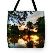 Nature Oil Painting Landscape Tote Bag
