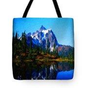 Oil Paintings Art Landscape Nature Tote Bag