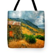 Landscape Painted Tote Bag
