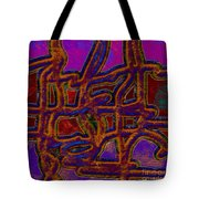 1554 Abstract Thought Tote Bag