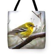 1570 - Pine Warbler Tote Bag