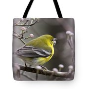 1575 - Pine Warbler Tote Bag