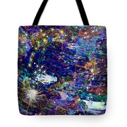 16-1 Blue Space Tote Bag