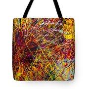 16-10 String Burst Tote Bag
