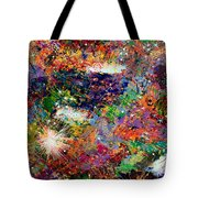 16-3 Red Space Tote Bag