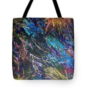 16-4 Space Explosion Canvas Tote Bag