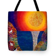 16-7 Village Sun Tote Bag