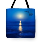 A Buddha Saying Tote Bag