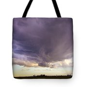 Afternoon Nebraska Thunderstorm Tote Bag