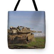 An Israel Defense Force Merkava Mark Iv Tote Bag