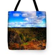 Landscape Painting Oil Tote Bag