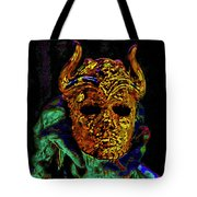 Mask. The Sons Of The Harpy. Fantasy. Tote Bag