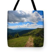 Mountain Panorama, Italy Tote Bag