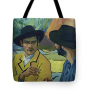 I Saw Her - Pretty - In A Porcelain Sort Of Way Tote Bag