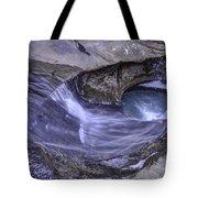 Old Man's Cave Tote Bag