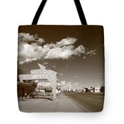Route 66 - Tucumcari New Mexico Tote Bag