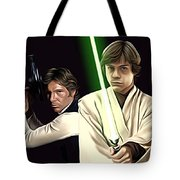 Star Wars Print And Poster Tote Bag