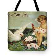 Valentines Day Card Tote Bag