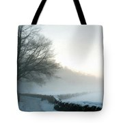 Wall Landscape Tote Bag