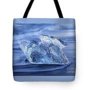 Ice On Beach Tote Bag