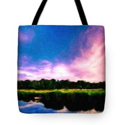 Oil Paintings Art Landscape Nature Tote Bag