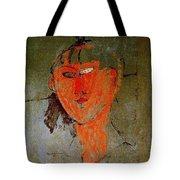 16937 Amedeo Modigliani Tote Bag