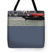 America's Cup San Francisco Tote Bag by Steven Lapkin