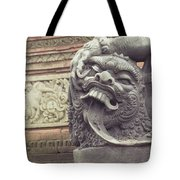 Bali Sculpture Tote Bag