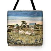 Battle Of Lexington, 1775 Tote Bag