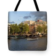 Canals Of Amsterdam Tote Bag