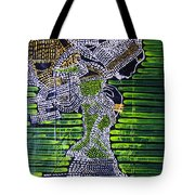 Dinka Lady - South Sudan Tote Bag by Gloria Ssali