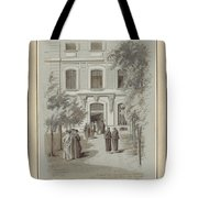 Drawn To Paris Tote Bag
