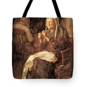 Henshall John Henry Threading The Needle John Henry Henshall Tote Bag