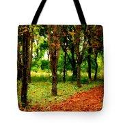 Landscape View Tote Bag