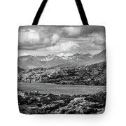 Rocky Mountains Nature Scenes On Alaska British Columbia Border Tote Bag