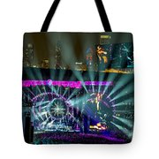 The Grateful Dead At Soldier Field Fare Thee Well Tote Bag