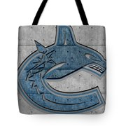 Vancouver Canucks Tote Bag