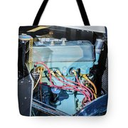 1743.036 1930 Mg Engine Plate Tote Bag