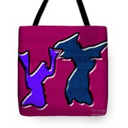 1771 Abstract Thought Tote Bag